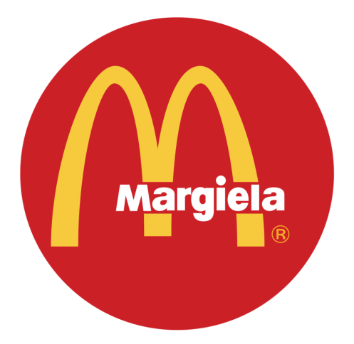 'Margiela' on McDonalds logo, REILLY
